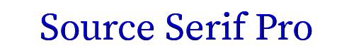 Source Serif Pro