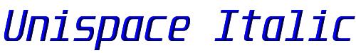 Unispace Italic