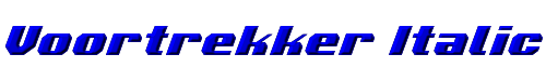Voortrekker Italic