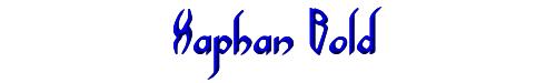 Xaphan Bold