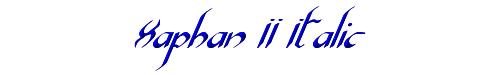 Xaphan II Italic