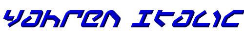 Yahren Italic