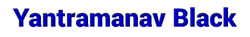 Yantramanav Black