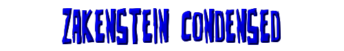 Zakenstein Condensed