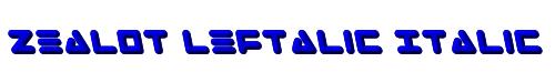 Zealot Leftalic Italic
