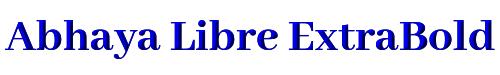Abhaya Libre ExtraBold