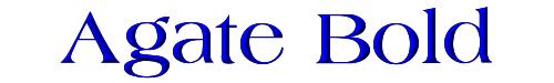 Agate Bold