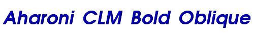 Aharoni CLM Bold Oblique