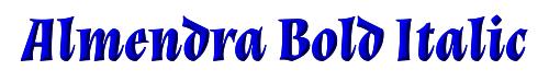 Almendra Bold Italic