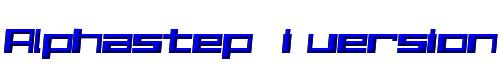 Alphastep  i version
