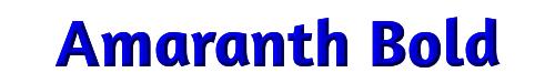 Amaranth Bold