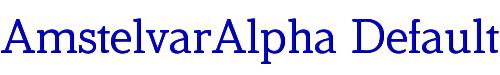 AmstelvarAlpha Default