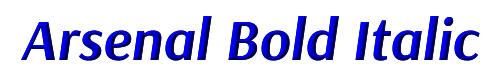 Arsenal Bold Italic
