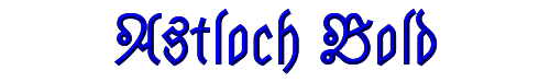 Astloch Bold