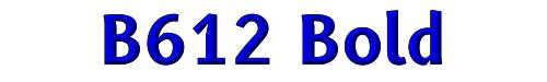 B612 Bold