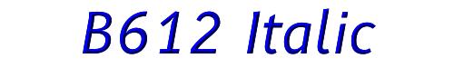 B612 Italic