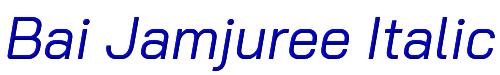 Bai Jamjuree Italic