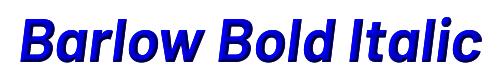 Barlow Bold Italic