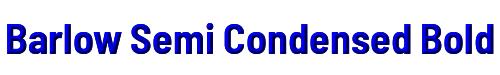 Barlow Semi Condensed Bold