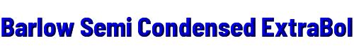 Barlow Semi Condensed ExtraBold