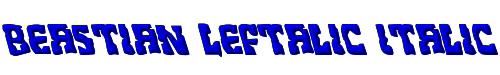 Beastian Leftalic Italic