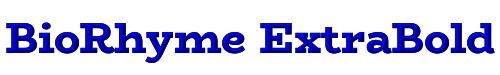 BioRhyme ExtraBold