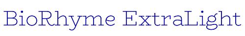 BioRhyme ExtraLight