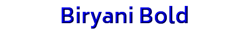 Biryani Bold
