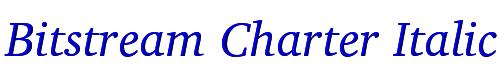Bitstream Charter Italic