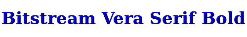 Bitstream Vera Serif Bold