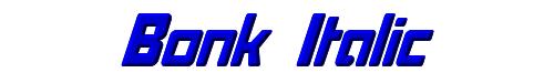 Bonk Italic