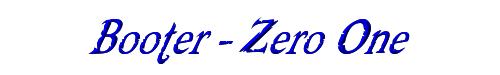 Booter - Zero One