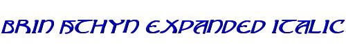 Brin Athyn Expanded Italic