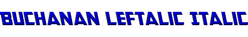 Buchanan Leftalic Italic