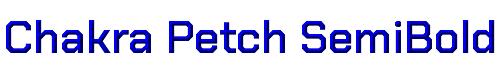Chakra Petch SemiBold
