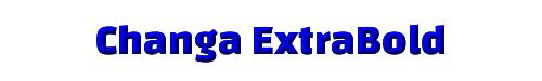 Changa ExtraBold