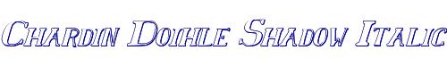 Chardin Doihle Shadow Italic