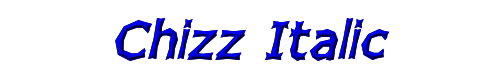 Chizz Italic