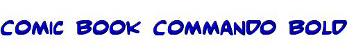 Comic Book Commando Bold