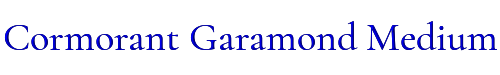 Cormorant Garamond Medium