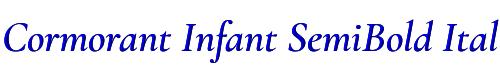 Cormorant Infant SemiBold Italic