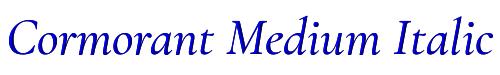 Cormorant Medium Italic