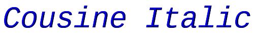 Cousine Italic