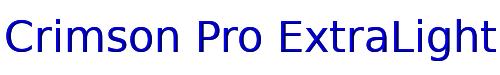 Crimson Pro ExtraLight