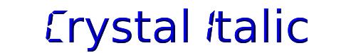 Crystal Italic