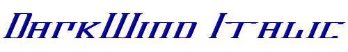 DarkWind Italic