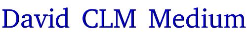 David CLM Medium