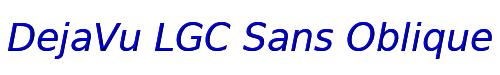 DejaVu LGC Sans Oblique
