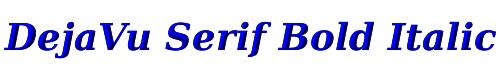 DejaVu Serif Bold Italic
