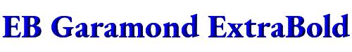 EB Garamond ExtraBold